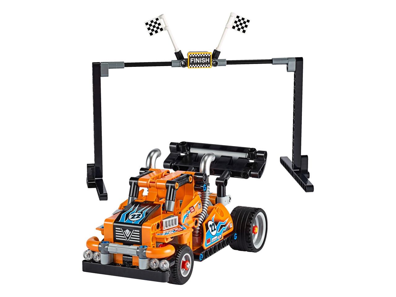Конструктор LEGO Гоночный грузовик 227 деталей (42104)