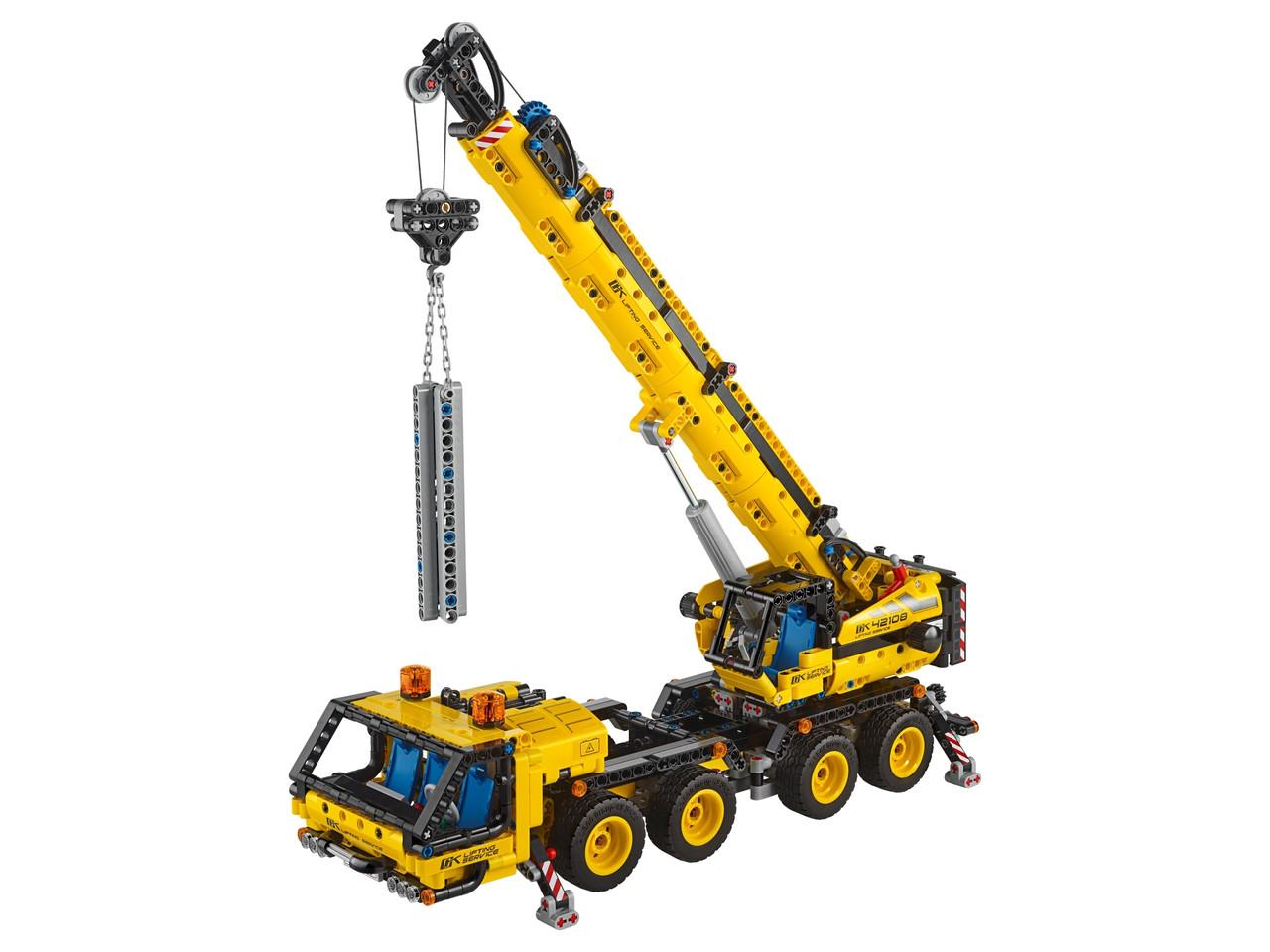 Конструктор LEGO Мобильный кран 1292 деталей (42108)