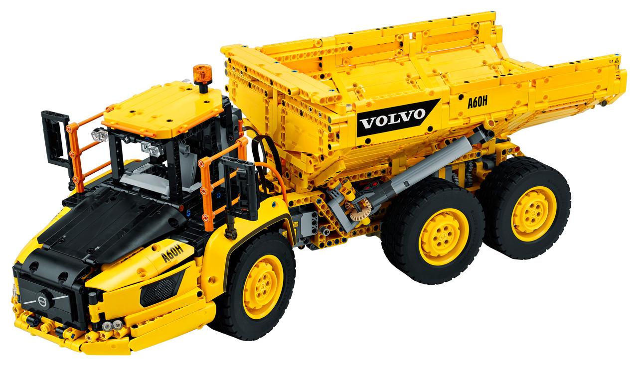 Конструктор LEGO Сочлененный самосвал 6x6 Volvo 2193 деталей (42114)