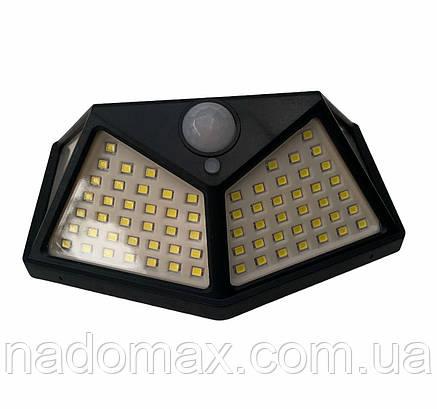 Led фонарь для улицы на солнечной батареи CL-100, фото 2