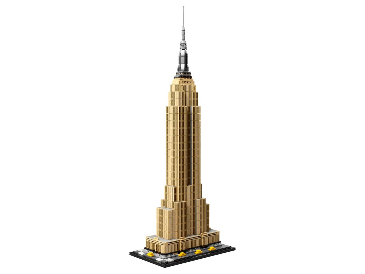 Конструктор LEGO Небоскреб Эмпайр-стейт-билдинг 1767 деталей (21046)