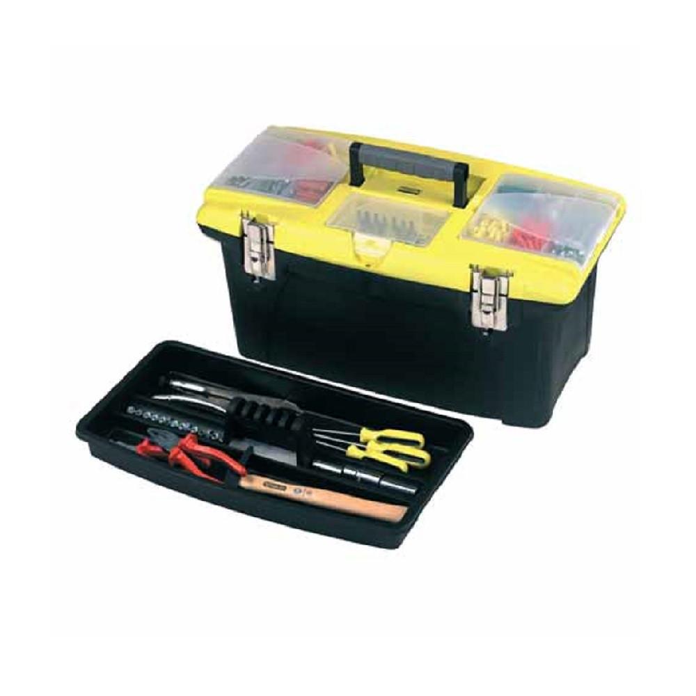 Ящик(Кейс)Чемодан Пластиковый с Металлическим Замком Для Инструментов 486х276х232 мм STANLEY 1-92-906