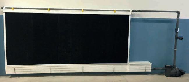 Профиль система для охлаждающих панелей.