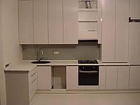 Кухня пленочная белая, фото 1