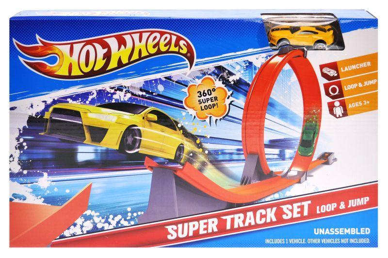 Трек с запуском Hot Wheels 8816