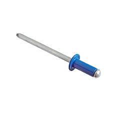 RF-Заклёпка окрашенная с плоской головкой 4,0х8 RAL5005 Al/St 2,5-4 METALVIS