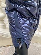 Стильная зимняя куртка пуховик Hailuozi 213-B3, фото 5