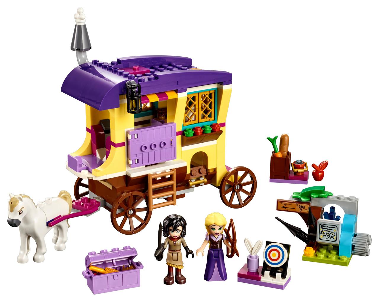 Конструктор LEGO Экипаж Рапунцель 323 деталей (41157)