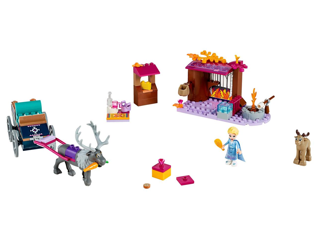 Конструктор LEGO Ельза і карета північних оленів 116 деталей (41166)
