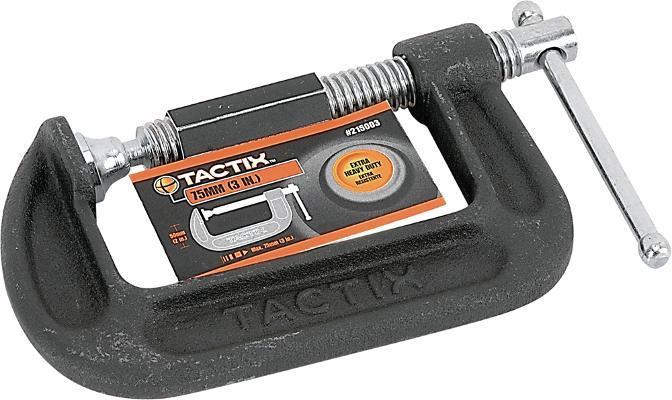 Струбцина C-типа 200 мм TACTIX INSTCTCCC200000PT0
