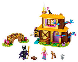 Конструктор LEGO Лісовий котедж Аврори 300 деталей (43188)