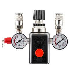 Прессостат(Блок Автоматики)Для Компрессора Воздушного(INTERTOOL)PT-9094