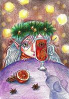 """Открытка """"Запах Нового года"""", фото 1"""