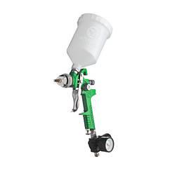 Краскопульт(Пневматический)Краскораспылитель 1.3мм/600мл(INTERTOOL)PT-0102