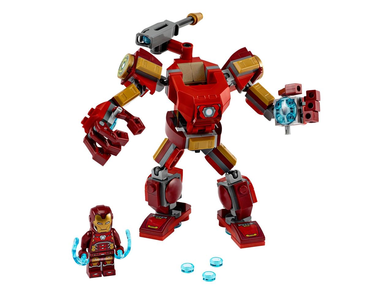 Конструктор LEGO  Железный Человек: трасформер 148 деталей (76140)