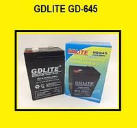 Аккумулятор GDLITE GD-645 (6V4.0AH) Батарея для весов, фонарей, источник питания