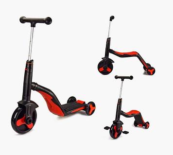 Детский самокат-велобег-велосипед 3 в 1 Cамокат-велобег-велосипед 3 в 1 Самокат детский трехколесный
