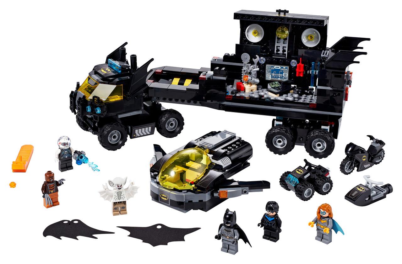Конструктор LEGO Мобильная Бет-База 743 деталей (76160)