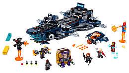 Конструктор LEGO Вертолетная станция 1244 деталей (76153)