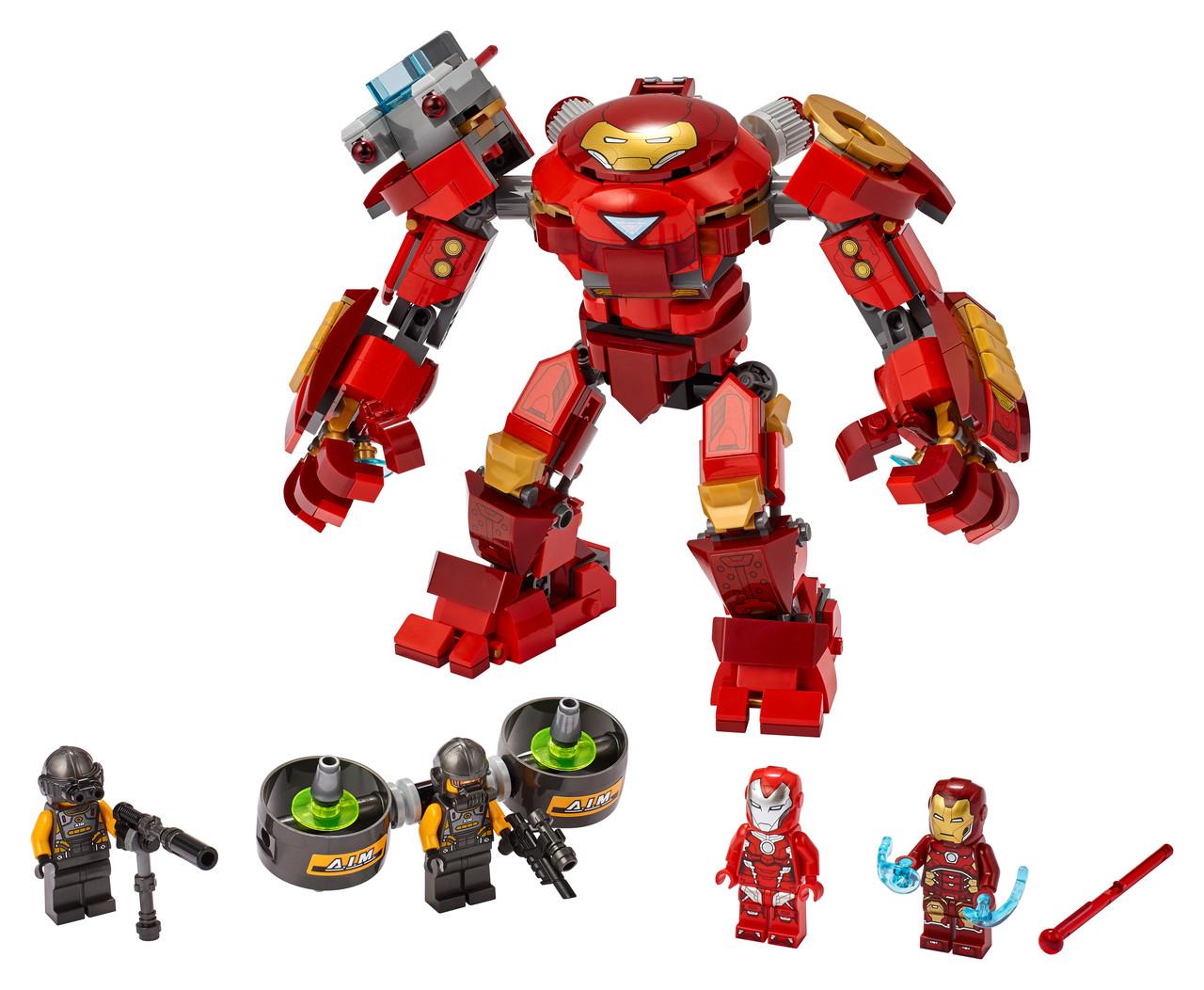 Конструктор LEGO Залізна Людина - Халкбастер 456 деталей (76164)