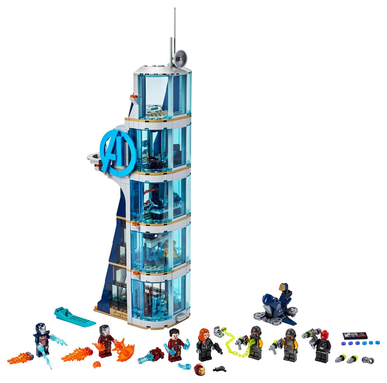 Конструктор LEGO Вежа Месників - Битва 685 деталей (76166)