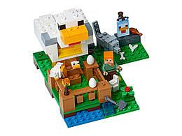 Конструктор LEGO Курятник 198 деталей (21140)
