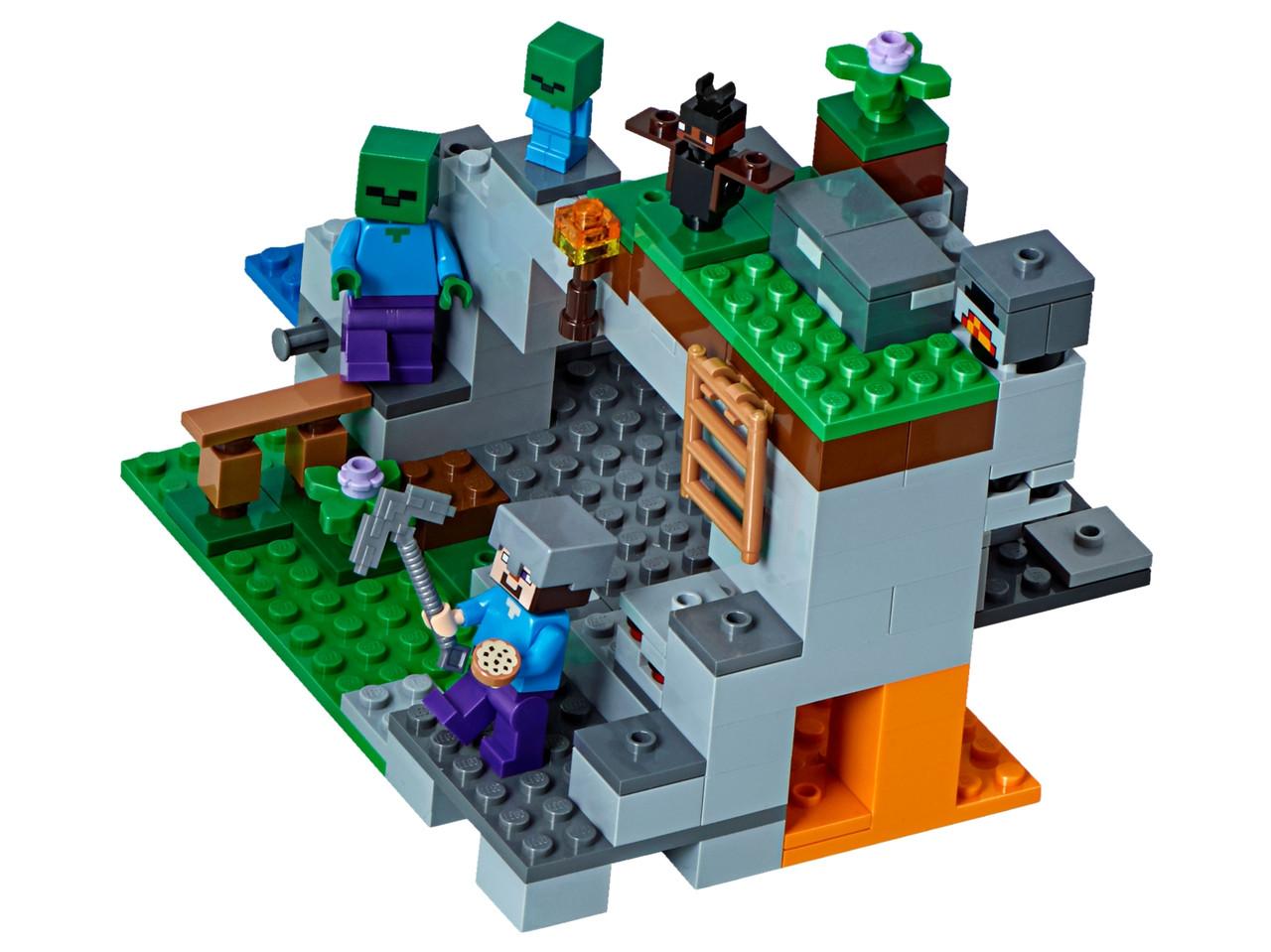 Конструктор LEGO Пещера зомби 241 деталей (21141)
