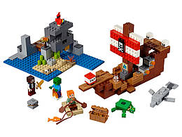 Конструктор LEGO Приключения на пиратском корабле 386 деталей (21152)