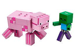 Конструктор LEGO Свинья и Зомби-ребёнок 159 деталей (21157)
