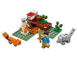 Конструктор LEGO Приключения в тайге 74 деталей (21162)