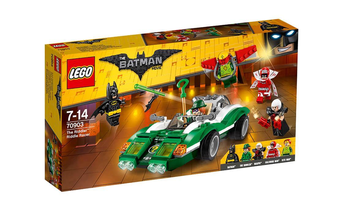 Конструктор LEGO Гоночне авто Загадочника 254 деталей (70903)