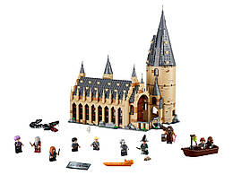 Конструктор LEGO Большой зал Хогвартса 878 деталей (75954)