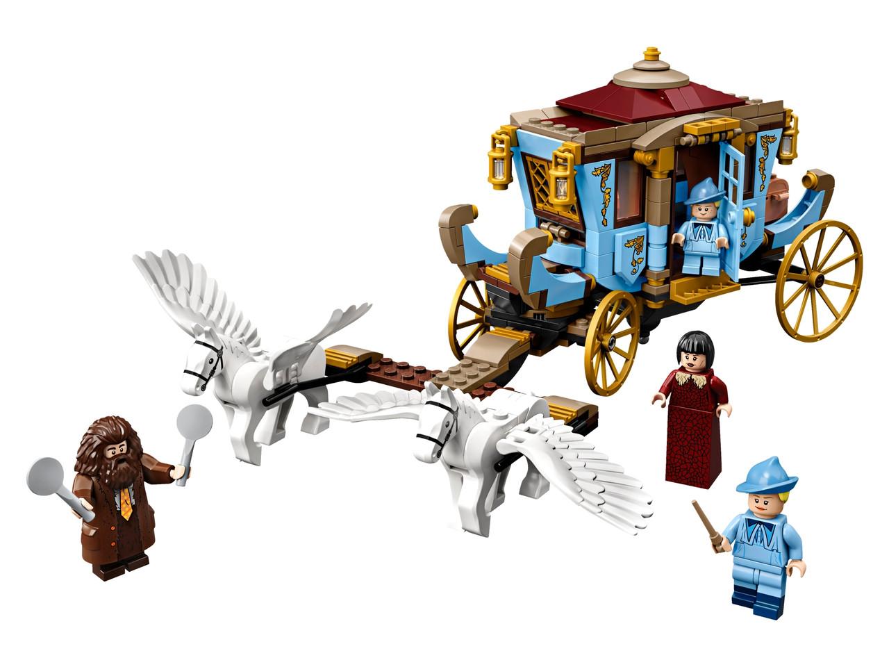 """Конструктор LEGO Коляска """"Бозбатон"""": прибытие в Хогвартс 430 деталей (75958)"""