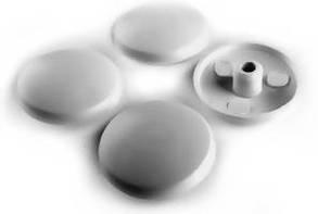 Заглушка(Крышка)Пластиковая Цвет(Белый)12мм/100шт Для(Конфирмата)Конформата 94K00000094BK00000