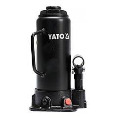 Домкрат Бутылочный(10 т/460 мм)Одноштоковый(Гидравлический)YATO YT-17004