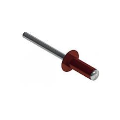 RF-Заклёпка окрашенная с плоской головкой 4,0х10 RAL3009 Al/St 4-6 METALVIS