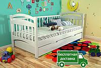 Деревянная кровать Алиса