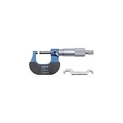 Микрометр с точностью 0,01 мм YATO YT-72300