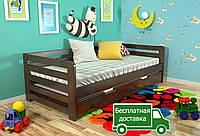 Деревянная кровать Немо