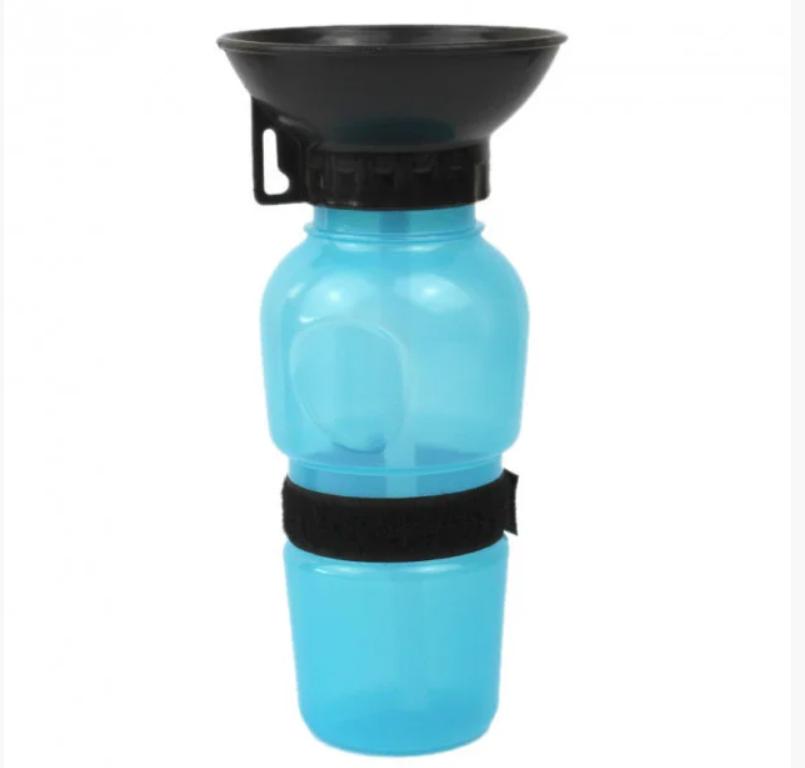 Поїлка Aqua Dog (Аква Дог) для собак тварин прогулянкова 500мл, портативна з чашею (KG-554)