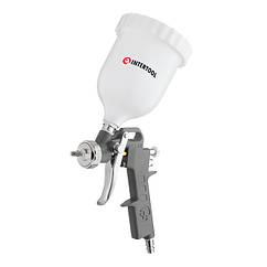 Краскопульт(Пневматический)Краскораспылитель 1.5мм/600мл(INTERTOOL)PT-0204