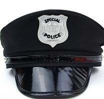 Кашкет поліцейського з козирком Police