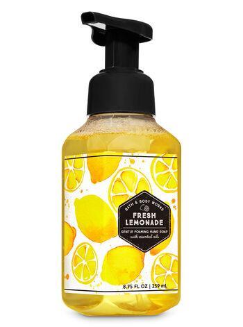 Уценка! Мыло-пена для рук Bath and Body Works Fresh lemonade