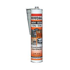 Полиуретановый герметик коричневый 290 мл SOUDAL (000020000000073104)