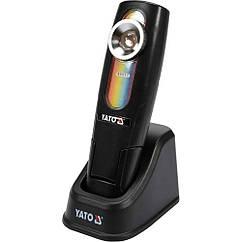 Аккумуляторный(Фонарь)Cветодиодный Для Подбора Цвета 5 Вт/Li-Ion YATO YT-08509