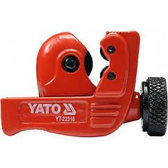 Труборез мини 3-22 мм YATO YT-22318