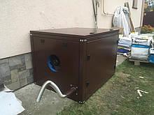Кожух/капот дизель-генератора 12кВа з витяжним вентилятором