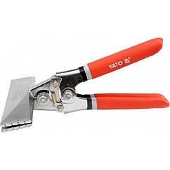 Шипцы для формирования профилей 210 мм 150*35 YATO YT-5142