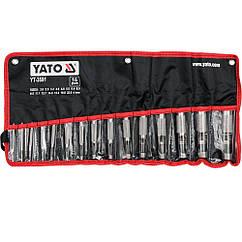 Пробойники(Просекатели)Отверстий 2-22 мм Набор(Комплект)15 шт YATO YT-3591
