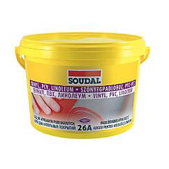 Клей для напольных покрытий 26А 5кг SOUDAL (000030000026050000)